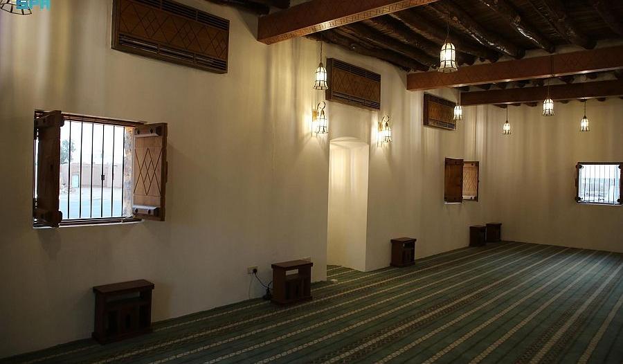 مسجد الحديثة أقدم المساجد التراثية بمنطقة الجوف