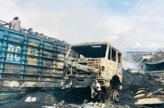 نشوب حريق في عشرات صهاريج الوقود في أفغانستان