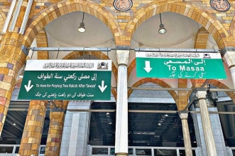 نظام إرشادي متكامل لتفويج المعتمرين والمصلين في المسجد الحرام - المواطن