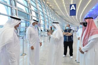 وزير النقل يتفقد مطاري الرياض وجدة استعدادًا لعودة الرحلات الدولية - المواطن