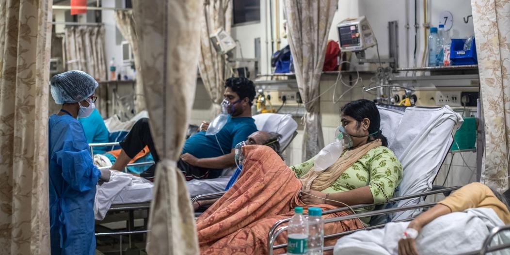 الهند تسجل أول إصابة بـ الفطر الأخضر