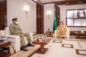 الأمير محمد بن سلمان يلتقي قائد الجيش الباكستاني - المواطن