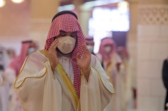 الأمير محمد بن سلمان يؤدي صلاة عيد الفطر في جامع الإمام تركي بن عبدالله بالرياض - المواطن
