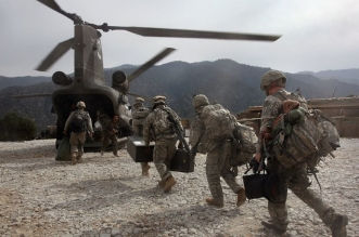 الجيش الأفغاني يعلن بدء انسحاب القوات الأجنبية - المواطن