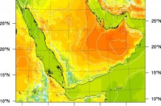 الأرصاد تنبه أهالي منطقتين بارتفاع درجات الحرارة - المواطن