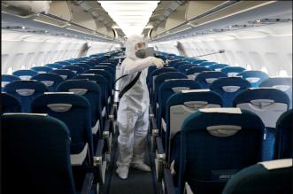 8 خطوات للوقاية من الإصابة بكورونا خلال الرحلات الجوية (1)