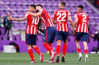 فريق أتلتيكو مدريد - ترتيب الدوري الإسباني