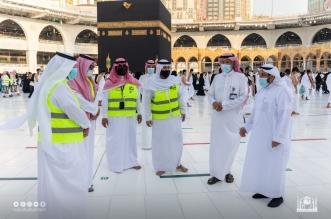 9 مدراء مناوبين يعملون على راحة ضيوف بيت الله الحرام خلال رمضان - المواطن