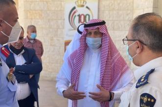 سفير المملكة في الأردن