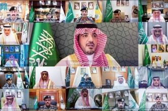 وزير الداخلية ينقل تحيات وتهنئة الملك سلمان وولي العهد لمنسوبي الوزارة - المواطن