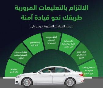 المرور: 7 نصائح تقلل نسبة الحوادث على الطريق