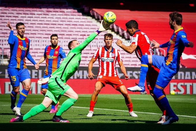 تعادل برشلونة وأتلتيكو يشعل ترتيب الدوري الإسباني