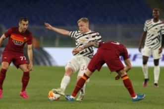 مانشستر يونايتد ضد روما