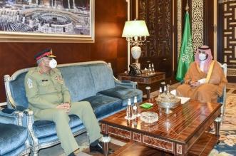 خالد بن سلمان يبحث آفاق التعاون مع قائد الجيش الباكستاني - المواطن