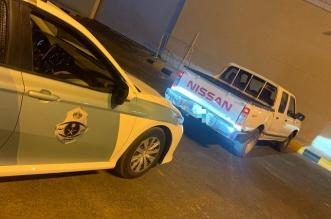 مفحط حي قاراء بسكاكا في قبضة رجال المرور - المواطن