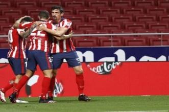 أتلتيكو مدريد بـ ترتيب الدوري الإسباني