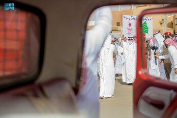 أمير القصيم يشارك أهالي حي الصفراء احتفال عيدنا في حينا - المواطن