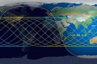 خريطة محتملة لمسار سقوط الصاروخ الصيني - المواطن
