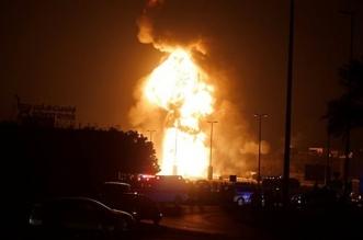 حريق بحقل برقان الكبير في الكويت يسفر عن إصابة شخصين - المواطن
