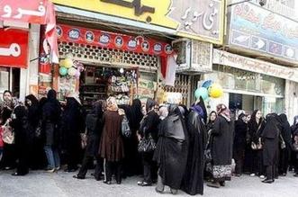 حلم الحصول على دجاجة في إيران