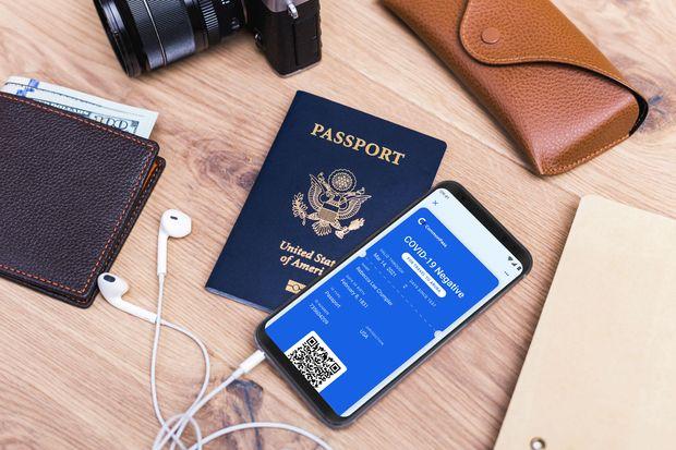 أول جواز سفر عربي للمحصنين ضد كورونا