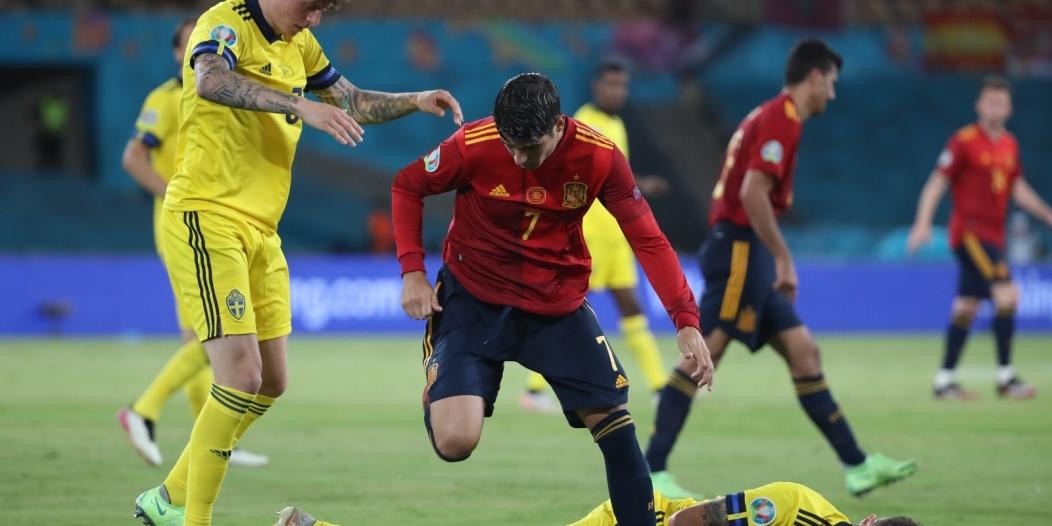 تعادل محبط لـ إسبانيا ضد السويد