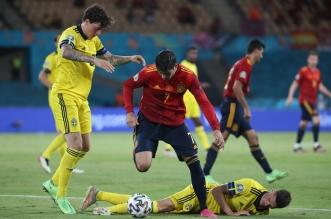 إسبانيا ضد السويد