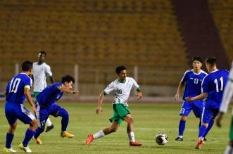 الأخضر ضد أوزبكستان