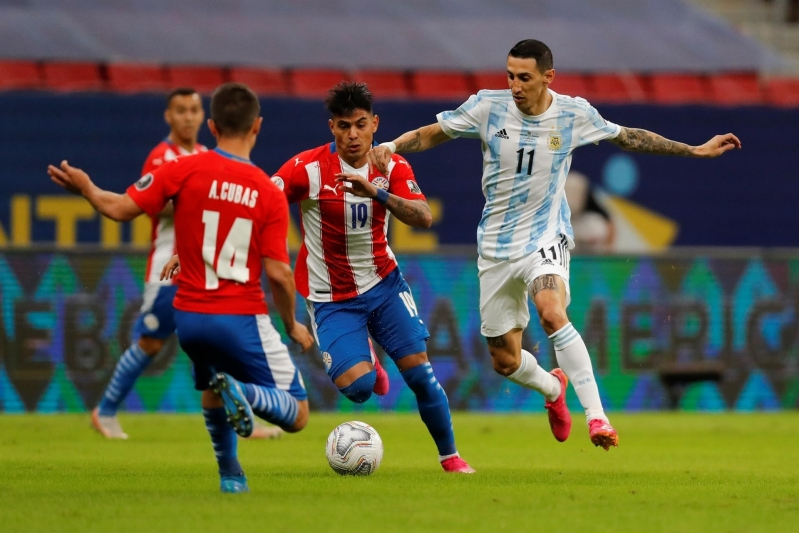 الأرجنتين ضد باراغواي