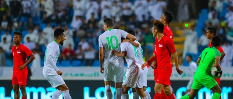 السعودية ضد سنغافورة