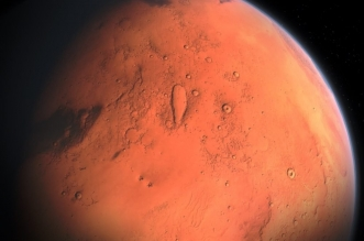 الصين ترفع علمها على المريخ وتترك بصمتها