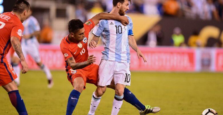 منتخب الأرجنتين وتشيلي