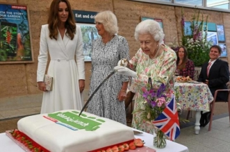 الملكة إليزابيث تقطع الكعكة بسيف: هذا يبدو جيدًا! - المواطن