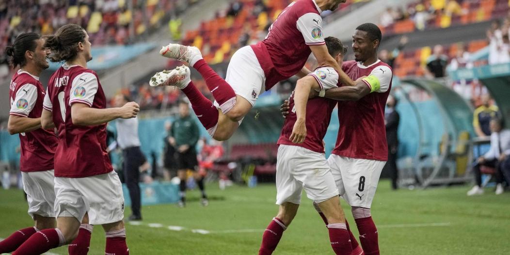 النمسا لدور الـ16 باليورو لأول مرة في تاريخها