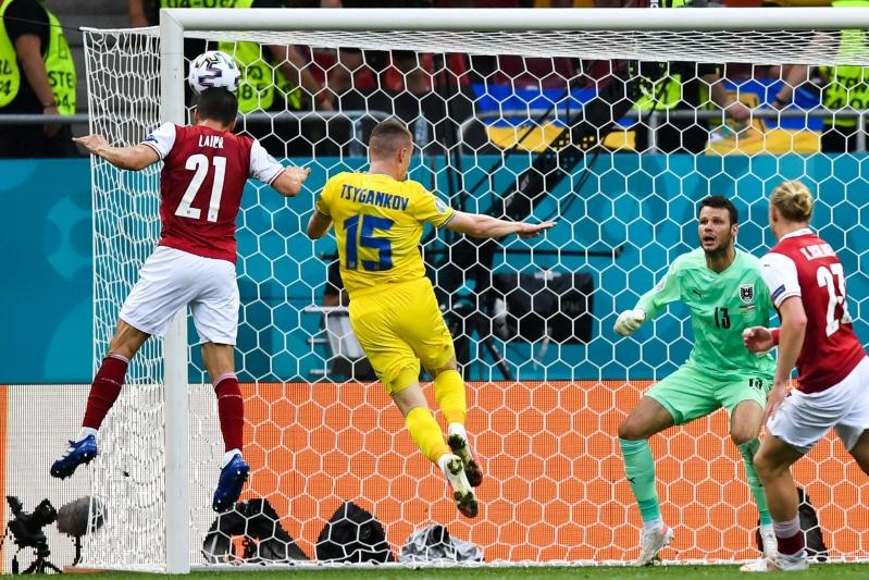 النمسا ضد أوكرانيا