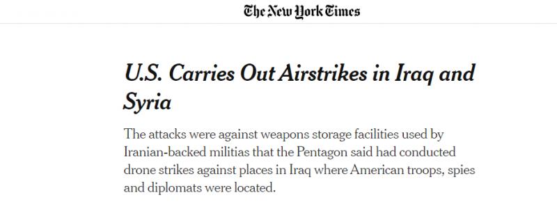 الولايات المتحدة تؤدب ميليشيات إيران بضربات جوية متقنة - المواطن