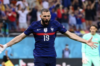 بنزيمة مع منتخب فرنسا