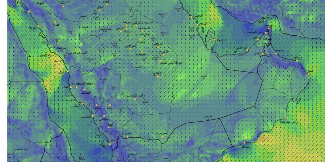 الحصيني: الغبار يشتد اليوم وتراجع درجات الحرارة غدًا