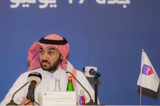 رئيس الاتحاد العربي عبدالعزيز الفيصل