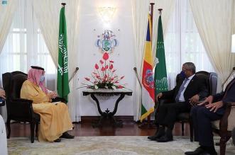 رئيس سيشل يستقبل الوزير قطان ويبحثان تعزيز التعاون - المواطن