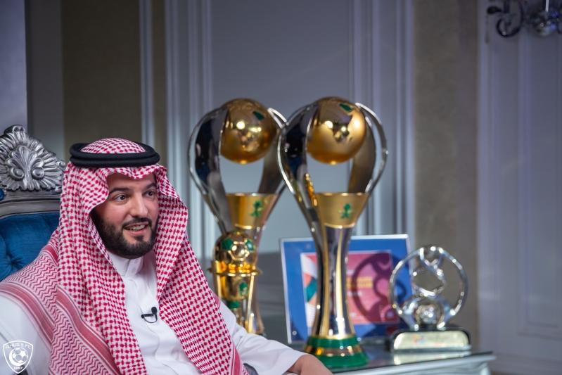 رئيس نادي الهلال فهد بن نافل