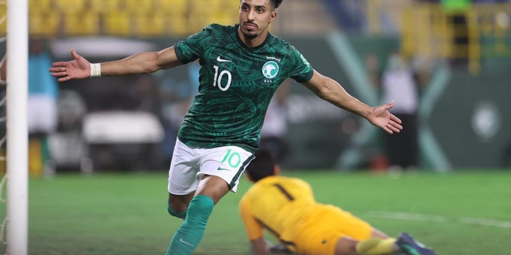 هدافو المنتخب السعودي في التصفيات