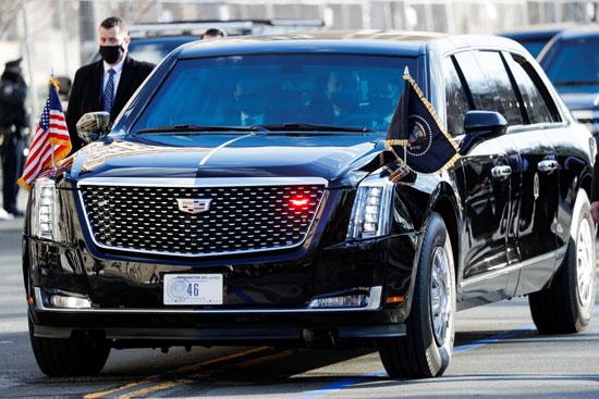 سيارة الوحش مركبة بمثابة تحفة تكنولوجية وقلعة دفاعية