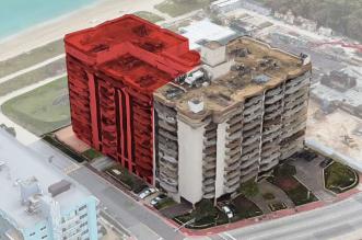 شاهد عملية إنقاذ ضخمة بعد انهيار مبنى في مدينة أميركية