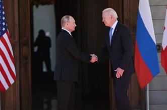 شاهد كيف مازح بوتين بايدن قبيل بدء محادثات القمة