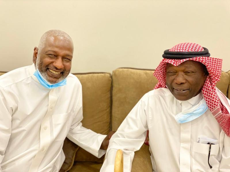 ماجد عبدالله مع ناجي عبدالمطلوب