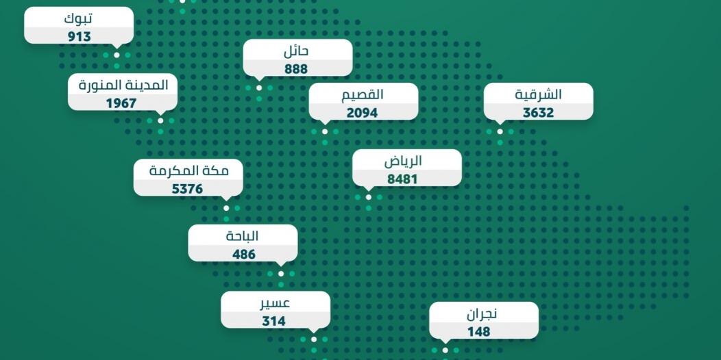 الداخلية : ضبط 27152 مخالفة لـ الإجراءات الاحترازية في أسبوع