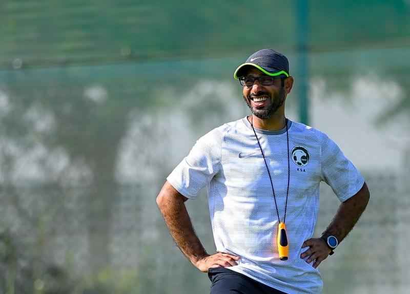 مدرب الأخضر الأولمبي سعد الشهري