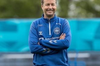 مدرب الدنمارك كاسبر هيولماند