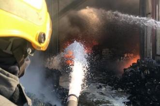 مدني الدمام يخمد حريقًا اندلع في مستودع دون إصابات - المواطن